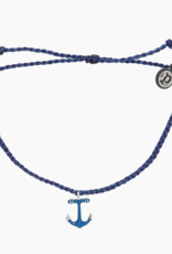 Pura Vida Pura Vida - Anchors Away Bracelet - Indigo
