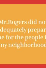 Drinks on Me Drinks on Me Coaster - Mr Rogers