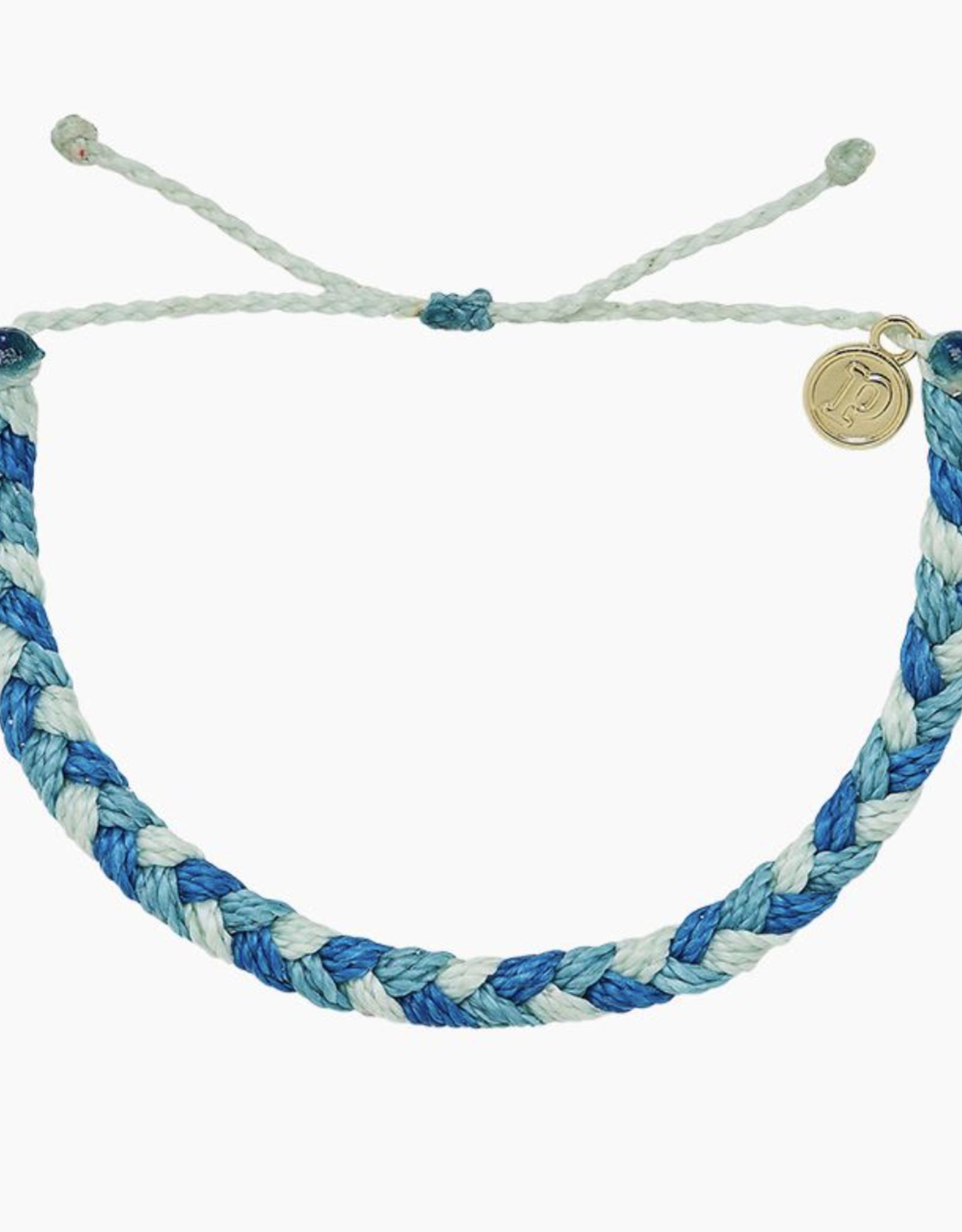 Pura Vida Pura Vida - Braided - Out of the Blue Bracelet