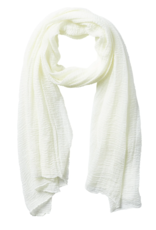 Tickled Pink - Insect Shield Scarf - Solid Ivory