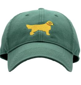 Harding Lane Harding Lane - Golden Retriever Moss Green Adult Hat