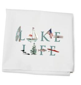 Tina Labadini Designs Tina Labadini Designs - Lake Life Tea Towel