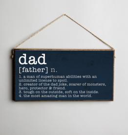 Rustic Marlin Rustic Marlin Mini Plank - Dad Definition