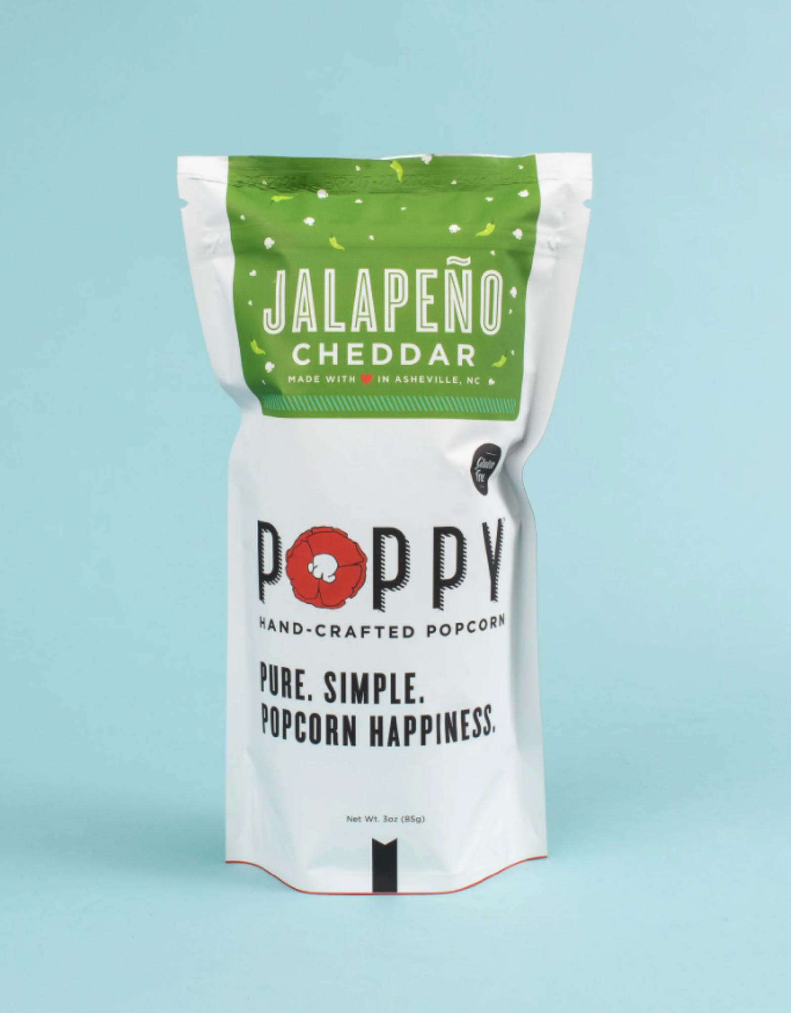 Poppy Handcrafted Popcorn - Jalapeno Cheddar