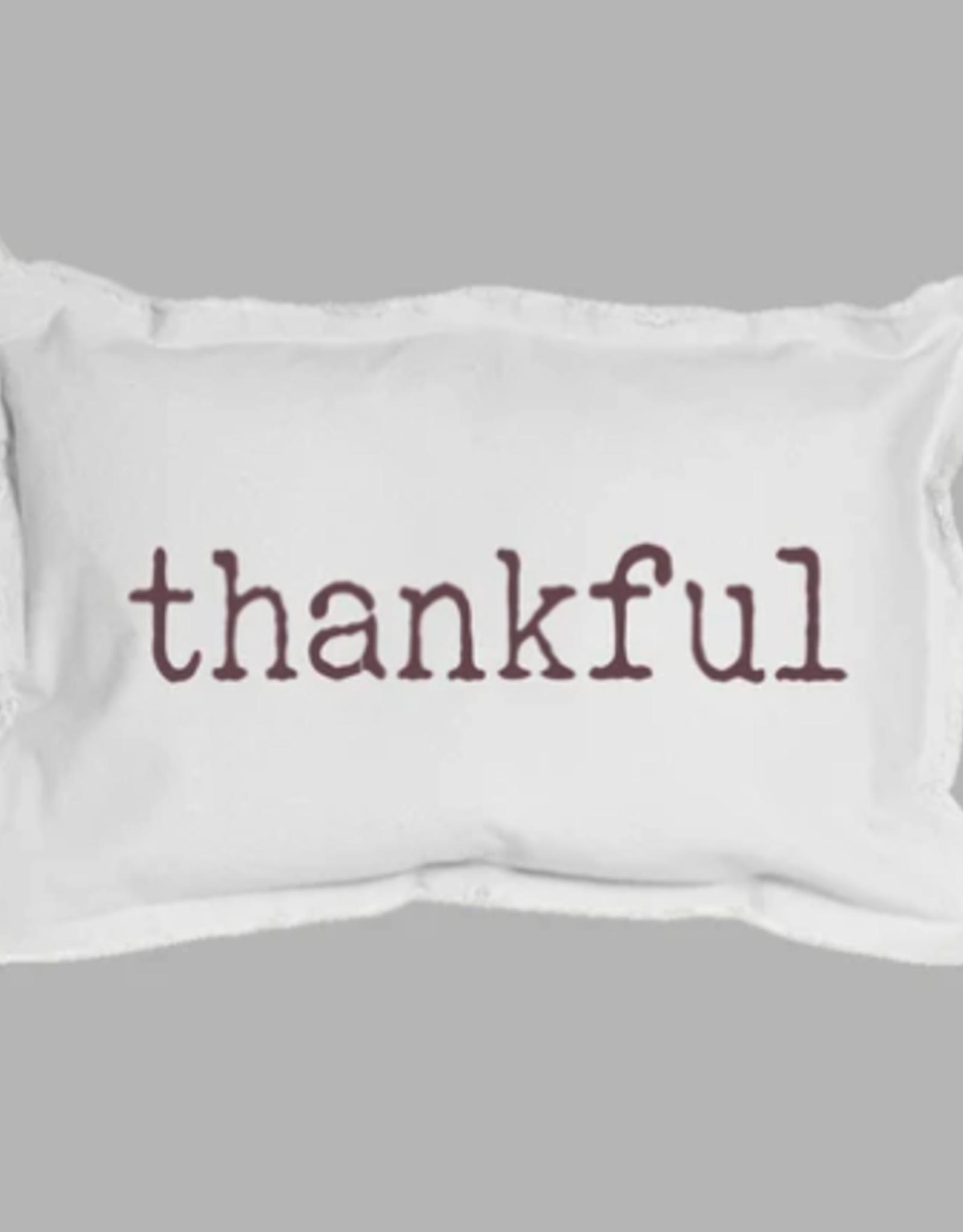 "Rustic Marlin Rustic Marlin - 12""x18"" Thankful Pillow"