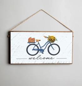 Rustic Marlin Rustic Marlin - Mini Plank - Welcome Fall Cruiser Bike