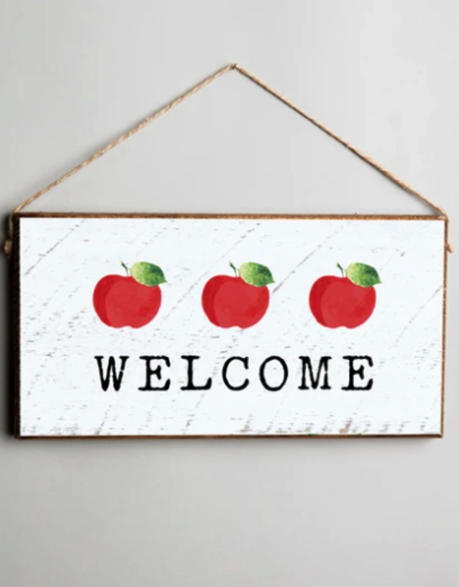 Rustic Marlin Rustic Marlin - Mini Plank - Welcome Three Apples