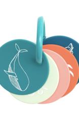 Bella Tunno Bella Tunno - Teething Flashcards - Under The Sea
