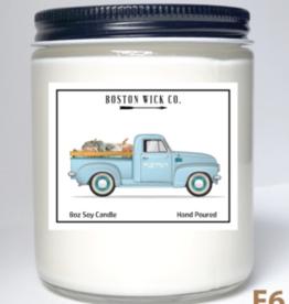 Boston Wick Boston Wick Company - Truck with Pumpkins Candle