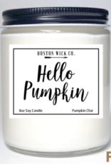 Boston Wick Boston Wick Company - Hello Pumpkin Candle