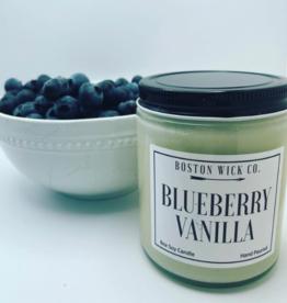 Boston Wick Boston Wick Company - Blueberry Vanilla Candle