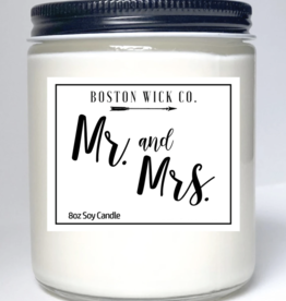 Boston Wick Boston Wick Company - Mr. and Mrs. Candle