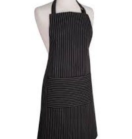 NOW DESIGNS Now Design Apron Basic pinstrip Black