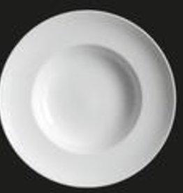"""UNIVERSAL ENTERPRISES, INC. 12"""" Wide Rim Soup / Pasta Plate"""
