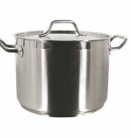 THUNDER GROUP, INC Thunder 16 Qt 18/8 S/S Stock Pot w/ Lid
