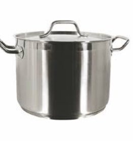 THUNDER GROUP, INC Thunder 12qt 18/8 Stainless Steal Stock Pot w/ Lid
