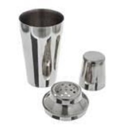 THUNDER GROUP, INC Thunder 8 oz cocktail mixer 3pcs  S/S