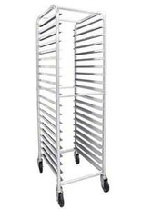 THUNDER GROUP, INC THUNDER GROUP 20 Tier Pan  Speed Large Baking Rack with 4x Casters (2x Loscking, 2 Regular)