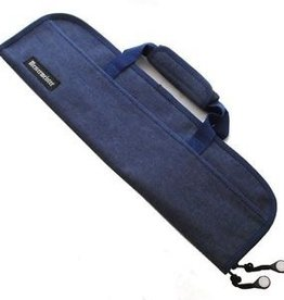 MESSERMEISTER Messermeister Blue Padded knife bag, 5 pocket denim blue