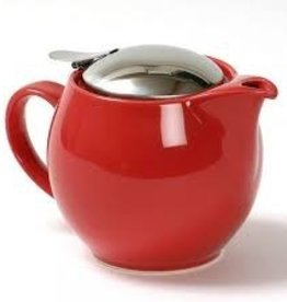 BEE HOUSE Bee House Round TeaPot Stainless Steel Cherry