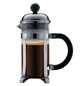 BODUM Chambord Coffee Maker, 3 Cup, 0.35 I, 12oz, Chrome