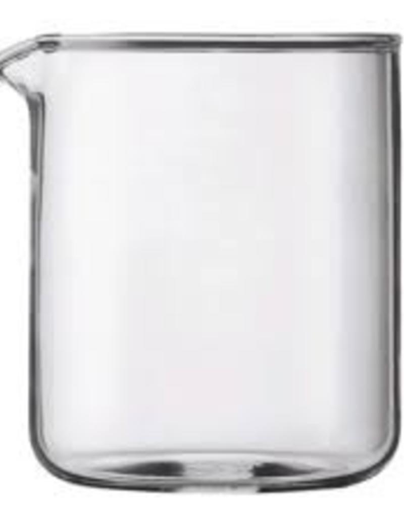 BODUM BODUM SPARE BREAKER SPARE GLASS, 4 CUP, 0.5L, 17 OZ. 9.6 CM DIA, 12.5 CM H