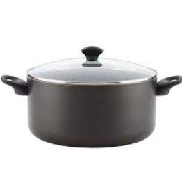 Meyer BONJOUR 10.5 qt non stick stockpot black Farberware