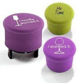 CAPABUNGA Three Wise Women O Night D' Wine Holiday Wine Stopper