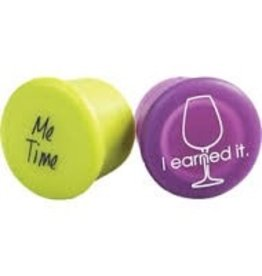 CAPABUNGA Be Wine Drink Me Wine Stopper