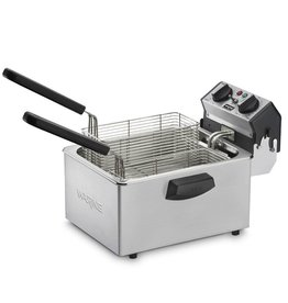 WARING PROFFESIONAL / CONAIR WARING PROFFESIONAL Deep Fryer With 2, 2 Baskets, 6.5 Lb  (NSF Approved)