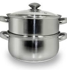 COOK PRO INC COOK S/S 3pc Steamer and Sauce Pot 3qt Set