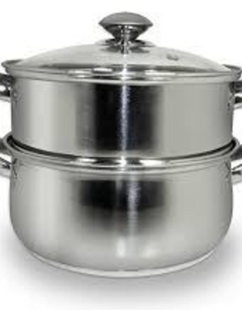 COOK PRO INC COOK S/S 3pc Steamer and Sauce Pot 3qt Set