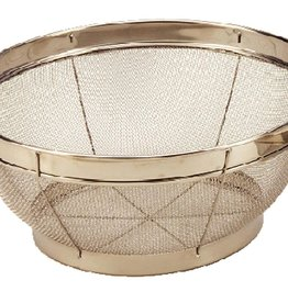 COOK PRO INC COOK Stainless Steel Mesh Colander 18/10 Strainer 10""