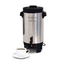 West Bend 42-Cup Aluminum Coffee Urn