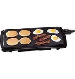 CRYSTAL PROMOTIONS CRYSTAL PROMOTIONS Presto Low Profile Cool Touch Griddle