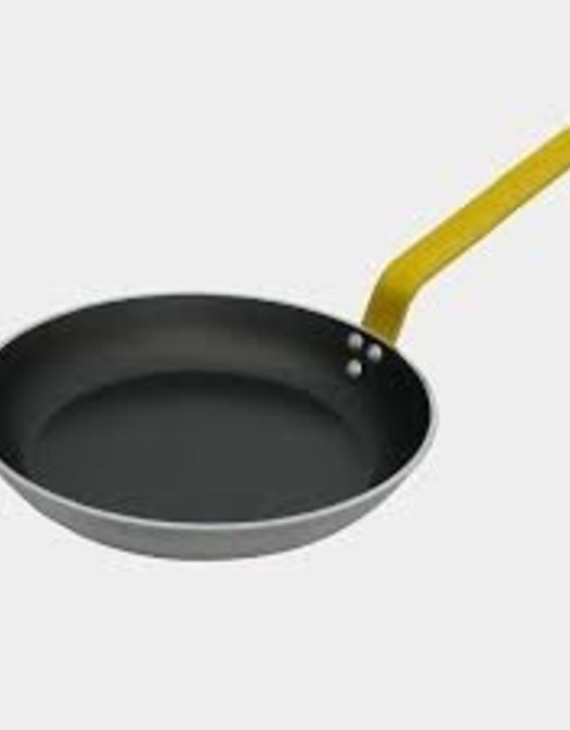 De buyer Round Non-stick gandle 28 Cm Yellow Handle