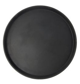 SWING-A-WAY / FOCUS PRODUCTS GROUP UPDATE Round Black Stainless Steal Tray 12""