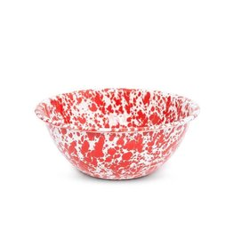 CGS INT. CGS LG SALAD BOWL RED MARBLE