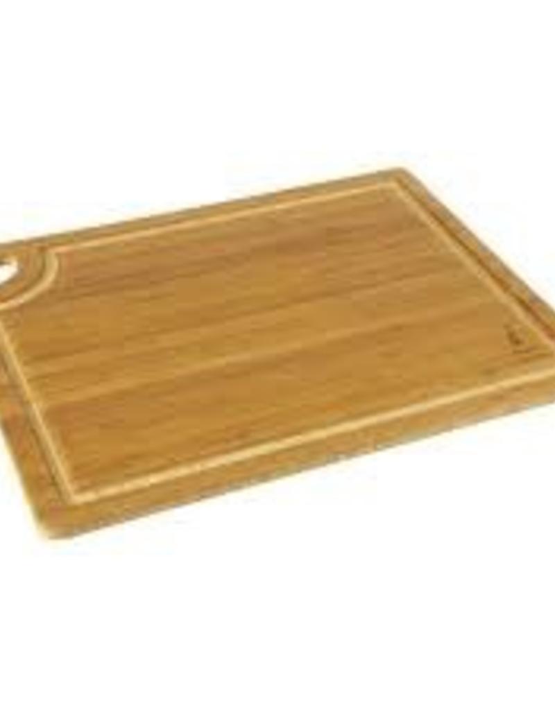 "ISLAND BAMBOO ISLAND BAMBOO 5 Ply Cutting Board w/ Gravy Groove 14"" x 18"" x 5/8"""