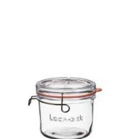 Luigi Bormioli Bormioli Luigi lock-eat clear glass food jar  6.75oz