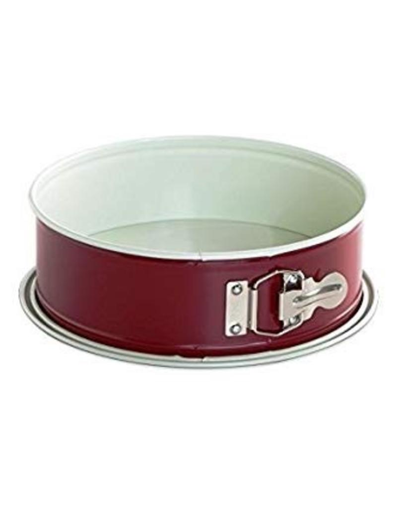 "Nordic Ware NORDIC WARE 9"" Leak Proof Red Springform Pan"