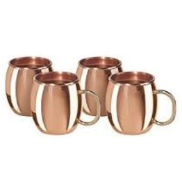 OGGI Corporation OGGI Mini Moscow Mule Shot Set of 4