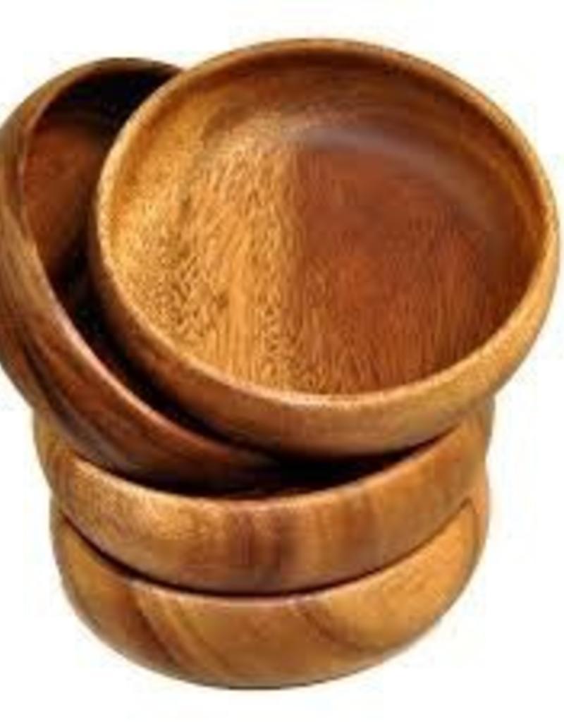 "PACIFIC MERCHANTS PACIFIC MERCHANTS Calabash Round Dipping Bowl 4x1.5"""