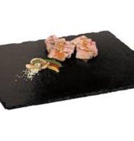 PADERNO WORLD CUISINE Paderno Natural black Slate Tray <br /> 13 x 7