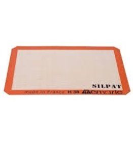 "Silpat Bake Mat Half Size 11 5/8"" x 16.5"" made in France"