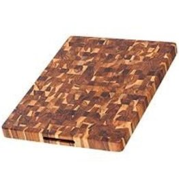 TEAK End Grain Butcher Block Hand Grip 20x15x1.5