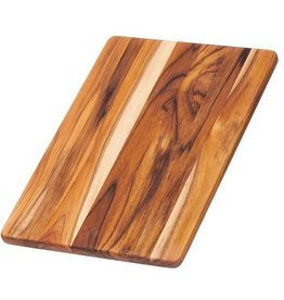 TEAK End Grain Essential Collection Boards Cutting and Serving Board 13.75x9.5x.5