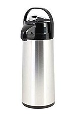 THUNDER GROUP, INC Thunder 2.5L 84oz Airpot S/S Body Glass Lined Lever Top