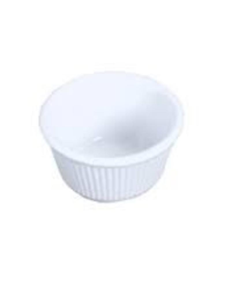 THUNDER GROUP, INC Thunder Fluted Ramekin Whit Portion Cup