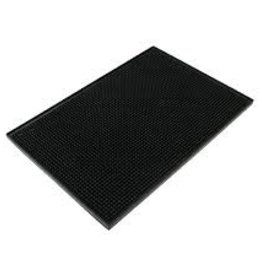 THUNDER GROUP, INC Black Plastic Servicing Bar Mat 12x18""